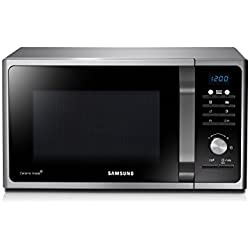 Samsung MG23F301TCS Forno a Microonde, 800 W, Grill 1200 W, 23 l, Argento