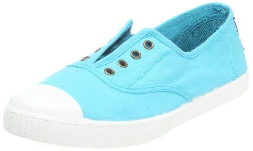 Victoria Inglesa Elastico Tenido Punt Damen Sneaker Blau (Bleu ciel)