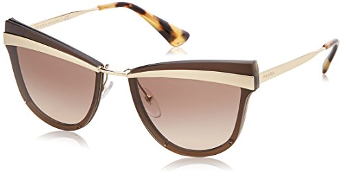 Ray-ban 0pr 12us occhiali da sole, marrone (sand pale gold/brown), 58 donna