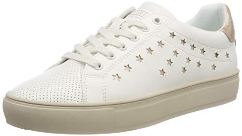 ESPRIT Damen Colette Star LU Sneaker Weiß (White 100) 39 EU