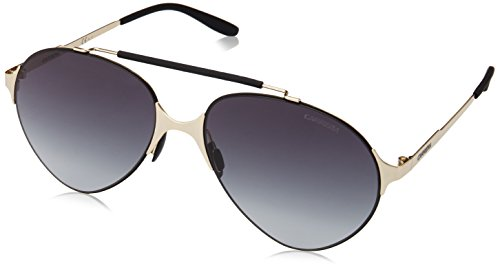 Carrera Herren 124/S HD 1PW Sonnenbrille, Gold Blackmt/Grey Sf, 58