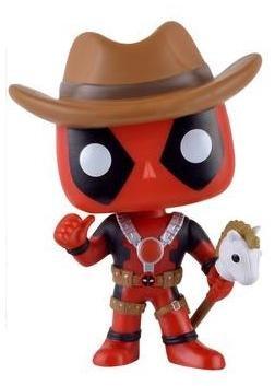 Deadpool Deadpool Cowboy Vinyl Bobble-Head 117 Figurine Bobble Head