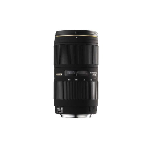 Sigma 50-150mm f2.8 APO EX DC II Lens For Canon Digital SLR Cameras With APS-C Sensors