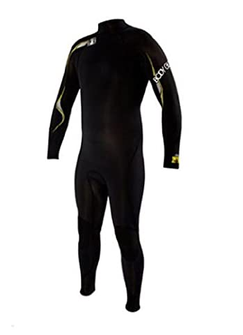 Body Glove Men's 4/3mm Vapor Slant Zip Cold Water Full Body Wetsuit, Large/Short by BOGA9