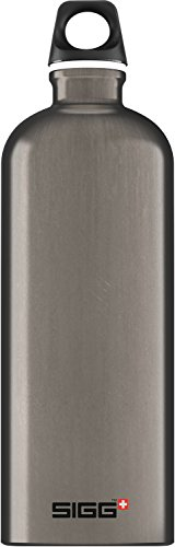 Sigg Traveller Smoked Pearl Trinkflasche, Grey, 1.0 L