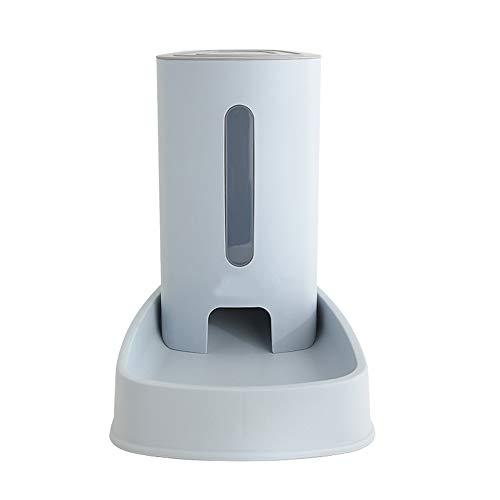 PET HOUSE Automatischer Futterspender Katze Futterspender Und Wasserspender Für Hunde Katzen Kaninchen Und Kleintiere Jeweils 3.8 L,Blue