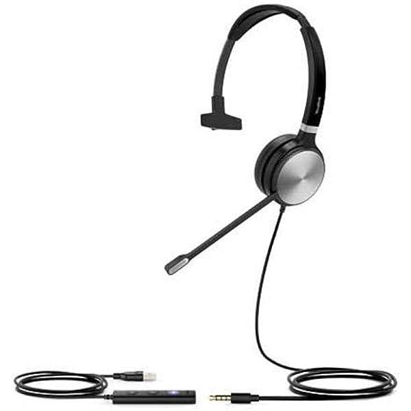 Yealink Uh36 Headset Mono Teams Elektronik