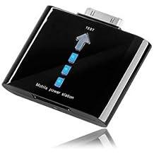 Batería externa de 1000mAh para iPhone 4G - 3GS - 3G- 2G - Todos los iPod. negra.