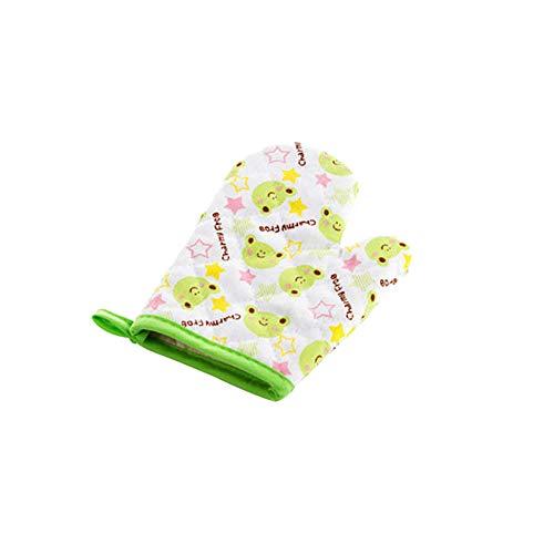 Saniswink 1 x Cartoon-Handschuh, Thermo-Isolierung, hitzebeständig, Küchenwerkzeug, fügen Sie Ihrem Leben ein Einheitsgröße (Schaum Gummi Kostüm)