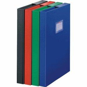 Herlitz 5424007 Heftbox A4 PP, farbig sortiert - keine Farbauswahl möglich!