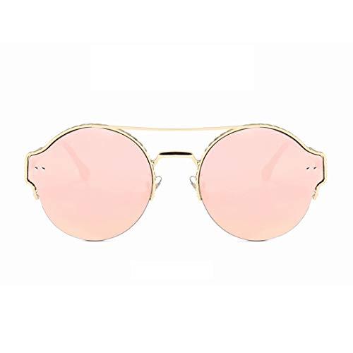 Polarisierte Sonnenbrille mit UV-Schutz Metallrahmen Anti-ultraviolette Sport-Sonnenbrillen können für das Fahren von Baseball Radfahren Golf Retro Sonnenbrille verwendet werden Superleichtes Rahmen-F