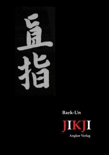 Jikji. Sammlung des koreanischen Zen-Buddhismus.