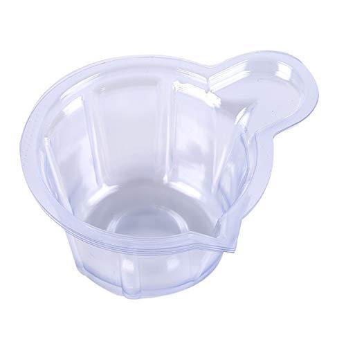 YouU 100 Stück Einweg-Urinbecher aus Kunststoff, leicht zu sammeln Urinproben für Schwangerschaftstest und Ovulationstest, Laborbehälter (50 ml/klar)