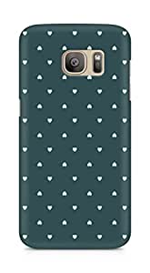 Amez designer printed 3d premium high quality back case cover for Samsung Galaxy S7 Edge (herats )