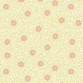 Baumwolle Stoff-Fat Quarter-Makower-Sundance-Rosenblätter Creme -