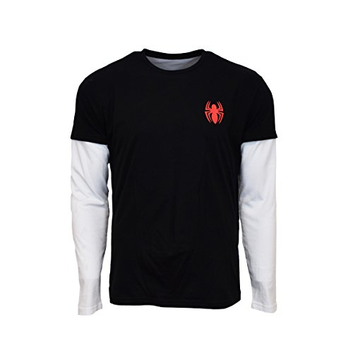 Spider-Man Longsleeve M (Videos Spiderman Kostüme)