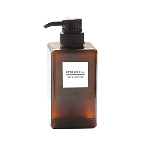 traline Platz Lotion Leer Press Flasche Hand Sanitizer Shampoo-Flasche Kosmetik Reisen Lotion 450ml Container -