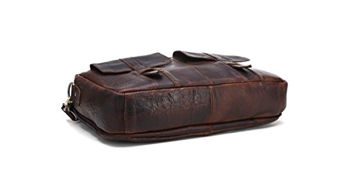 Marwar , Herren Schultertasche KMWB81-red brown KMWB81-coffee