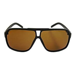 amashades Vintage Classics Retro Sonnenbrille für Herren 80er Jahre Old School Modell Flat Top Rahmen F9