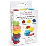 3 colorants artificiels en poudre, Scrapcooking