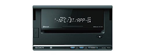 Sony XSPN1BT - Radio de coches con puerto dock para iPod (AM/FM, Bluetooth, NFC), negro