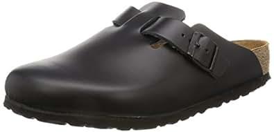 Birkenstock Boston 60191, Chaussures mixte adulte  - Noir - V.2, 35EU