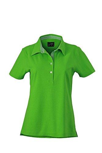james-nicholson-ladies-polo-shirt-mit-karo-optik-jn969-grossexlfarbelime-green-lime-green-white