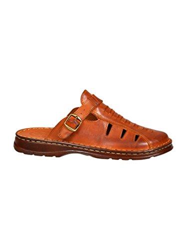 Sandali uomo in genuina pelle di bufalo ortopedici comode scarpe modello-801/2