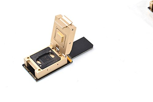 ALLSOCKET FBGA169/153-SD Legierungs-Adapter, eMMC153/169 Paket 153-169 Ball Nand Flash Mobile Memory Beschädigung Telefon Chip-Off Datum Recovery Reader Retrive Tool (BGA153-SD-Alloy)