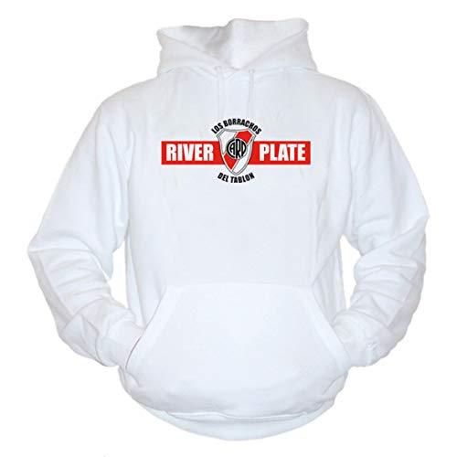 shirtmachine River Plate Hoodie (XXL) (Barcelona Hoodie)