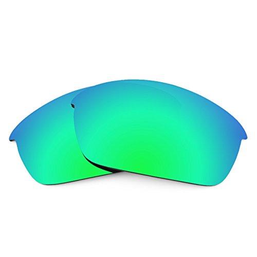 Revant Ersatzlinsen für Oakley Flak Jacket Emerald Grün MirrorShield®
