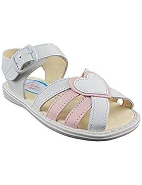 Sandalias para Niñas, Todo Piel mod.746. Calzado Infantil Made in Spain, Garantia de Calidad.