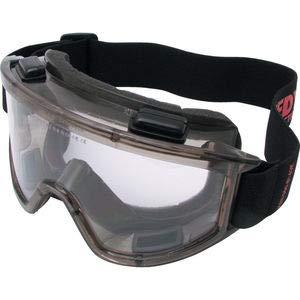 Kennedy Vollsichtbrille schwarz kratzfest UV-beständig Belüftungssystem elastisches Band Schutzbrille