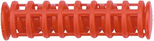 easy kurl Thermo-Korkenzieherwickler, 10 mm Durchmesser, Beutel mit 15 Stück und 1 Zange, rot