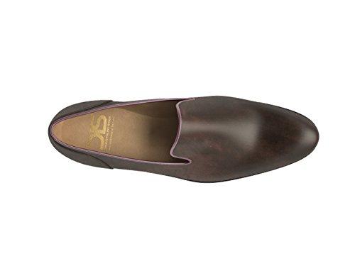 Chaussures Sur Mesure - Enfiler - Homme Décolorée brun foncé