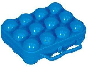 ALUMINIUM ET PLASTIQUE Boîte à 12 oeufs bleu en plastique - BO12BLEU
