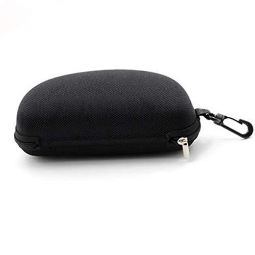 Yhjklm Sonnenbrillen Schutzbrillen Case Tasche Sonnenbrillen Box tragbare Reise Brillenetui Zipper Box Brillenetui FLEXIBELES Leichtgewicht