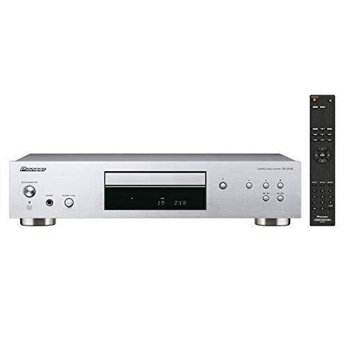 Pioneer PD-30AE(S) Pure-Audio-CD-Player (Silent-Drive-Laufwerk, Precision Clock, D/A-Wandler-Funktion und regelbarem Kopfhörerausgang) Silber -