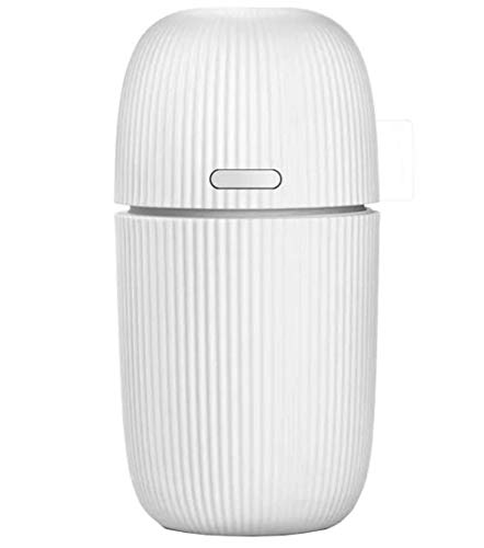 Shenhai Humidificador para automóvil Humidificador ultrasónico Agregar aromaterapia de aceites Esenciales Excepto humidificador de Olor Mini humidificador Blanco Todo el código