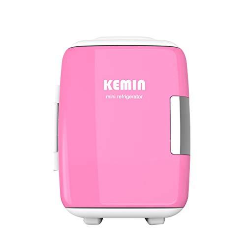4-l-Mini-Kühlschrank mit Kleiner Kühl- und Wärmekapazität (6 Hallen × 330 ml Getränke) für die Auto- / Haushalts- / Kosmetikkühlung