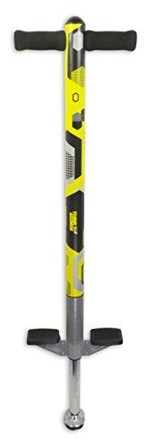 Un bâton sauteur pour les enfants - Pogo Aero Advantage - Pour les Enfants qui ont 5 - 10 ans et jusqu'à 36kg - Un Bâton Sauteur de Qualité Très Amusant Pour les Garçons et Les Filles (Noir et Jaune)