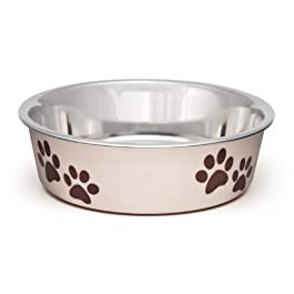 Loving Pets, ciotola per animali domestici Bella, piccole dimensioni, 350ml, colore rosa paparazzi