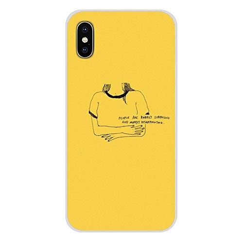 Handy-Shell-Fall Hippie Ästhetik gelb-Muster für iPhone X XR XS MAX 4 4S 5 5S 5C SE 6 6S 7 8 Plus ipod Touch 5 6-in Hälfte, Bilder 1, für iPhone 7 Plus (Billige Lustige Iphone 4s Fällen)