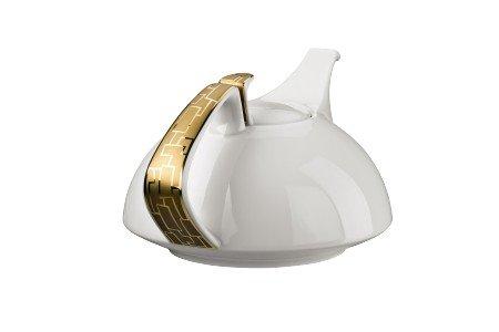 TAC Gropius Skin Gold Teekanne 6 P./4-tlg.