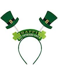 Wiggly St Patricks Day Headband