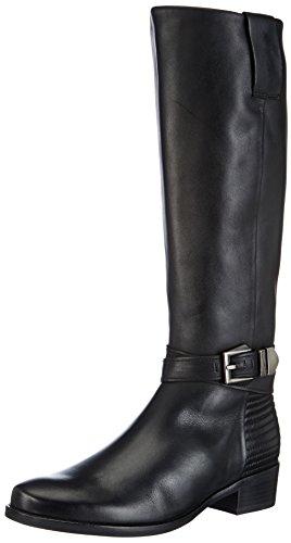 Gabor Shoes Comfort, Stivali da equitazione Donna Nero (Schwarz (schwarz (Micro)))