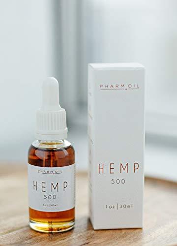 Hanföl | Hemp Oil | Full Spectrum Extract zur Schmerzlinderung 500 mg, 30 ml -
