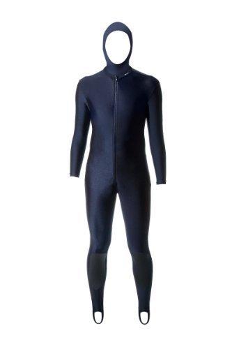 Aeroskin Full Body Anzug Rücken/Nieren, Ellenbogen und Kevlar Knieschützer mit Angeschnittene Kapuze (schwarz, klein) von Aeroskin preisvergleich