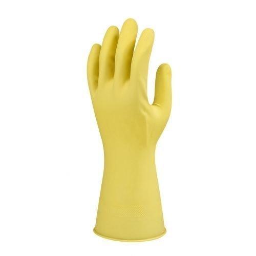 Marigold W62Y Gummihandschuhe Latex Klassisch Gelb, 12Paar (Latex Klassische)