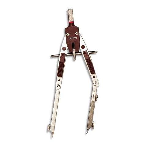 Rotring (Sanford) S0214540 Compas technique à réglage rapide avec allonge